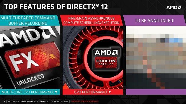 AMD confirma las tarjetas gráficas compatibles con DirectX 12
