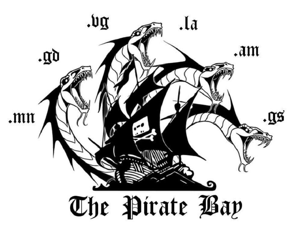 The Pirate Bay no se rinde, incluye una hidra en su logo