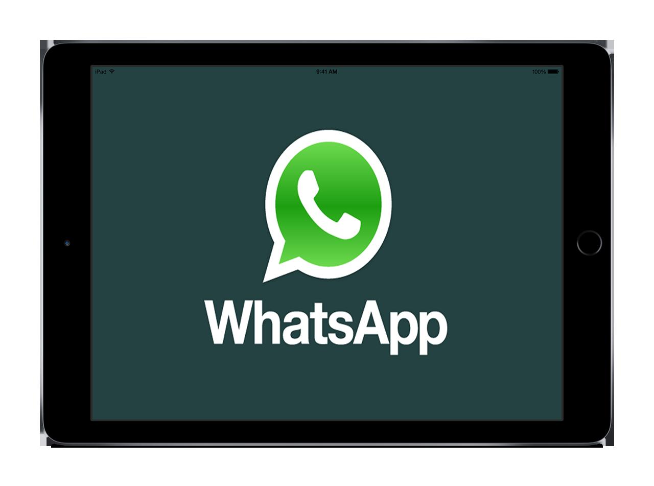 Ya puedes utilizar WhatsApp Web en tu iPad