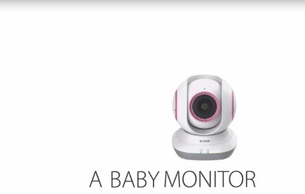 Nuevo vigilabebés DCS-855L EyeOn Baby Monitor de D-Link