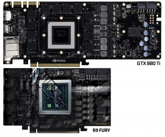 Así es el PCB de Fiji XT frente al de la GTX 980 Ti 33