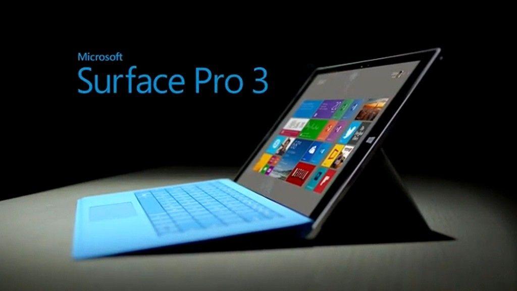 Adquiere tu Surface Pro 3 con un Intel Core i7