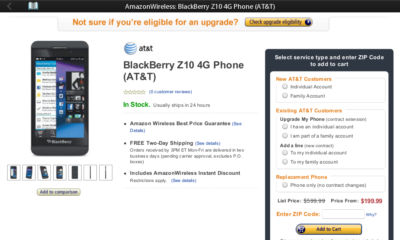BlackBerry implementa acceso nativo a Amazon Appstore 32