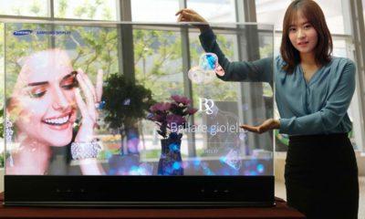 Así serán las OLED transparantes de Samsung