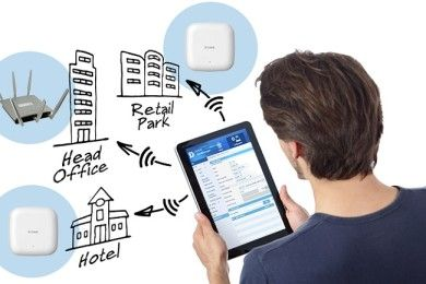 D-Link presenta Central WiFi Manager