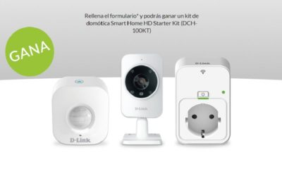 D-Link sortea un kit de domótica Smart Home HD Starter Kit 128