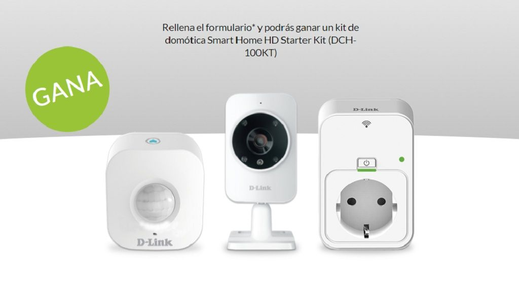 D-Link sortea un kit de domótica Smart Home HD Starter Kit 28