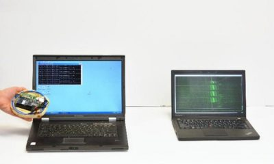 Dispositivo roba claves de cifrado a través de ondas de radio