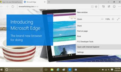Microsoft Edge tendrá un renderizado idéntico a WebKit 30