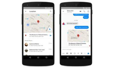 Facebook Messenger ya permite compartir la localización