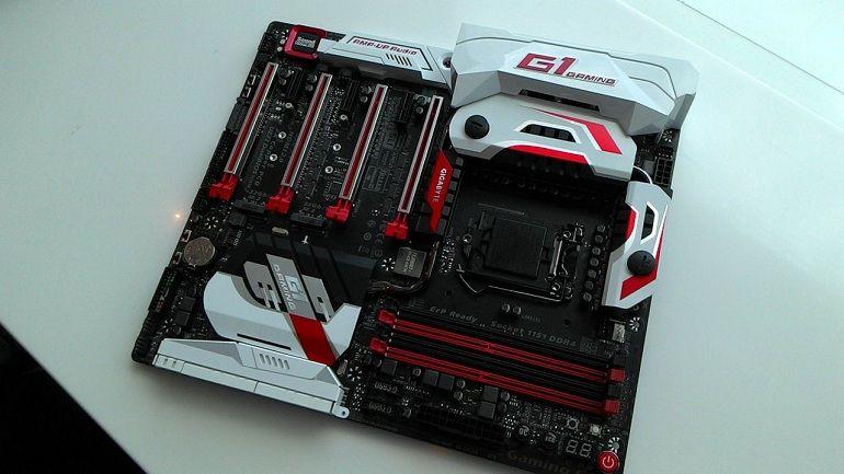 Impresionante placa GA-Z170X Gaming G1de GIGABYTE 31