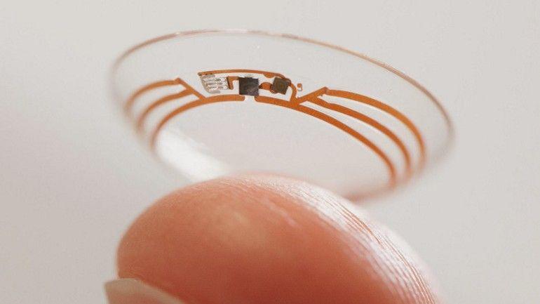 Google patenta unas lentillas que escanean el iris