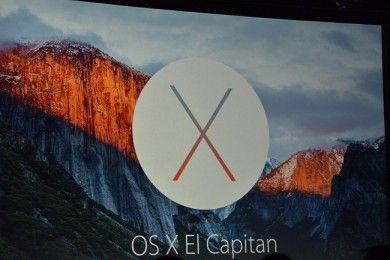 Apple presenta el nuevo Mac OS X El Capitán