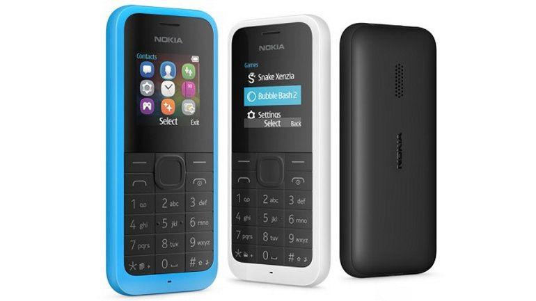 Microsoft lanza el Nokia 105, el más barato en la historia de la marca