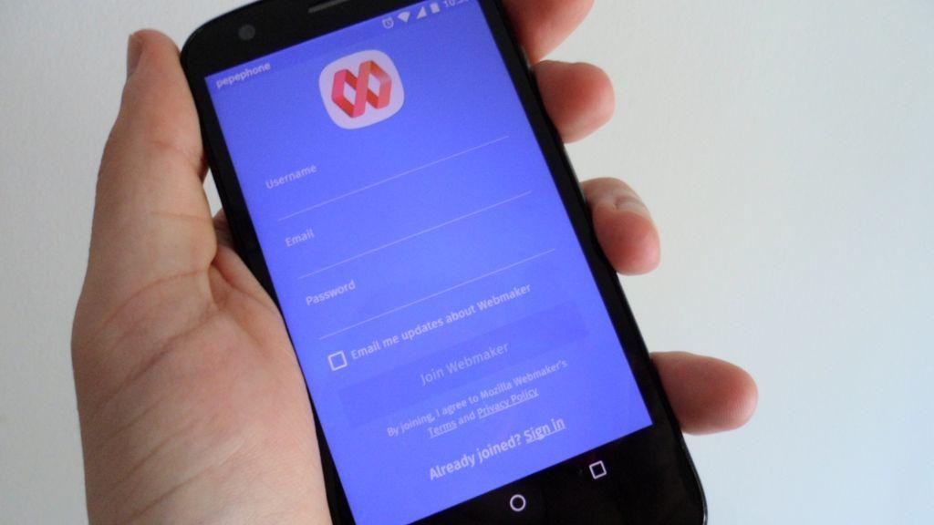 Mozilla lanza una app de Webmaker para Android
