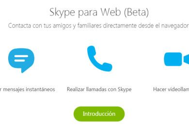 Skype Web ya está disponible en beta abierta
