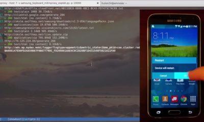 Smartphones Samsung, vulnerables a ataques remotos