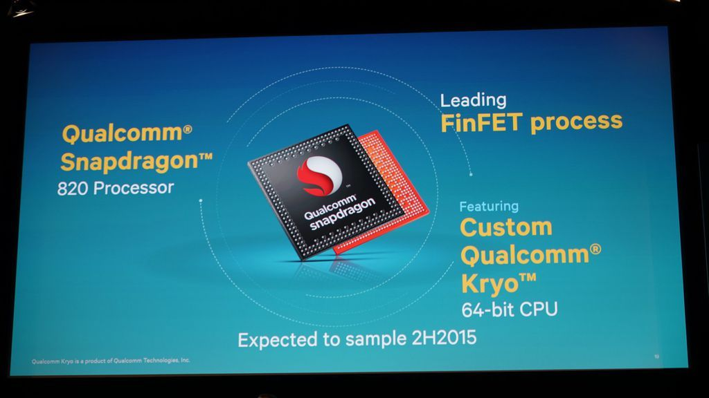 El Snapdragon 820 tendría una CPU a 3 GHz 27