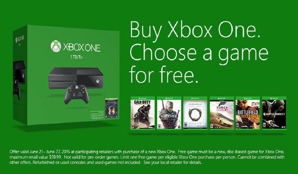 Microsoft regalará un juego a elegir al comprar Xbox One 29