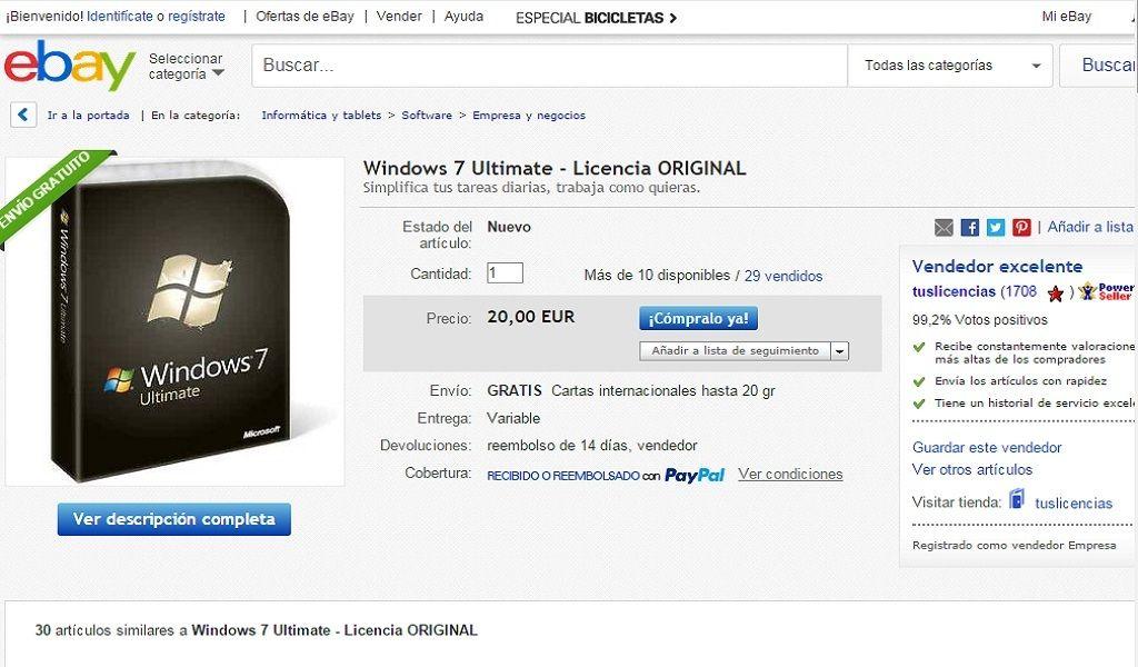 Windows 10 y el negocio de las licencias de Windows 7 29