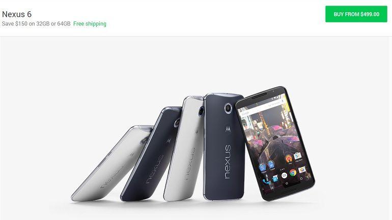 Google baja el precio del Nexus 6 a 499 dólares 31
