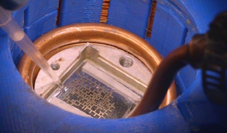 Consiguen crear un procesador alimentado por agua