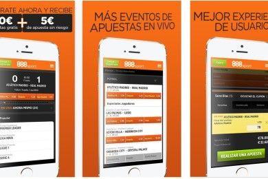 Apuestas deportivas con 888Sport.es, fácil y seguro desde tu iPhone