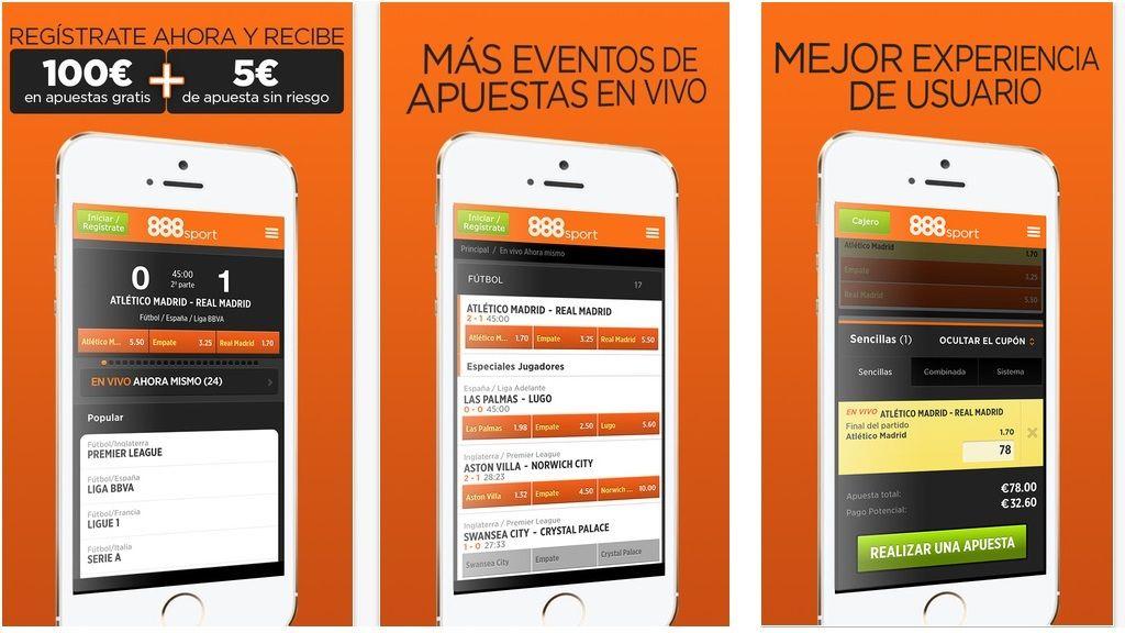 Apuestas deportivas con 888Sport.es, fácil y seguro desde tu iPhone 32