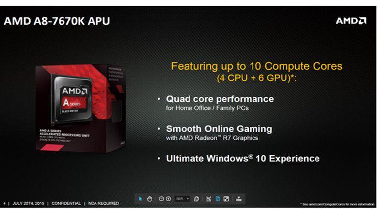 AMD añade la APU A8-7670K a su catálogo 31
