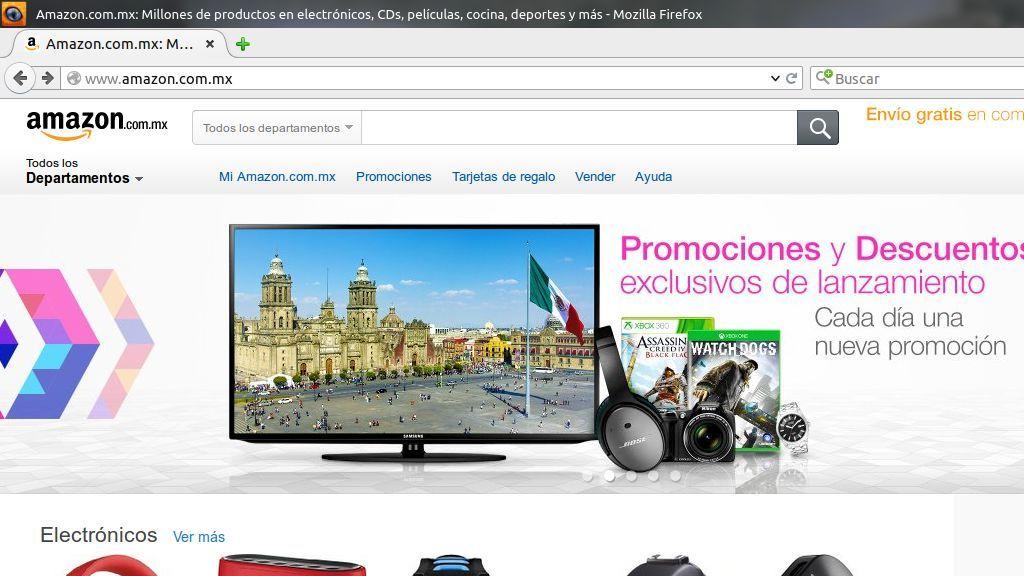 Amazon llega a México con miles de productos
