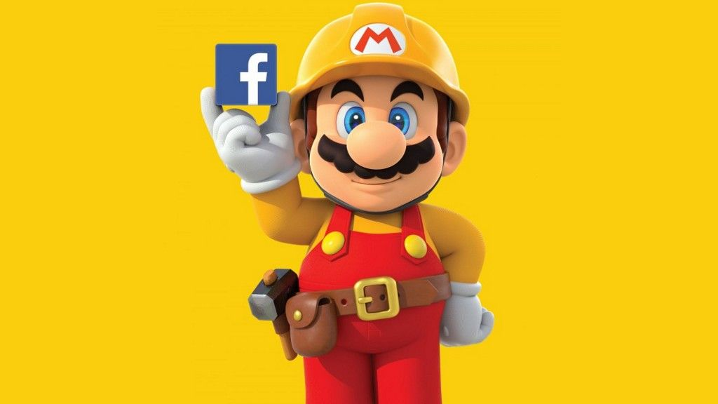 Facebook está creando un nivel con Super Mario Maker
