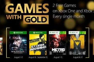 Juegazos gratis en Games with Gold de agosto