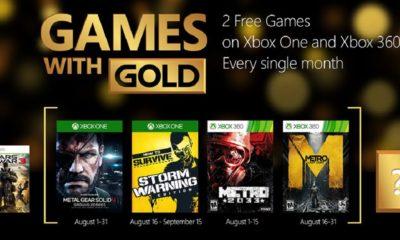 Juegazos gratis en Games with Gold de agosto 73