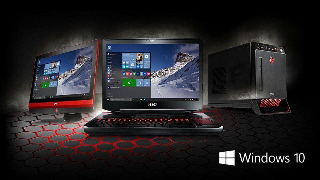 MSI empieza el envío de portátiles para gamers con Windows 10