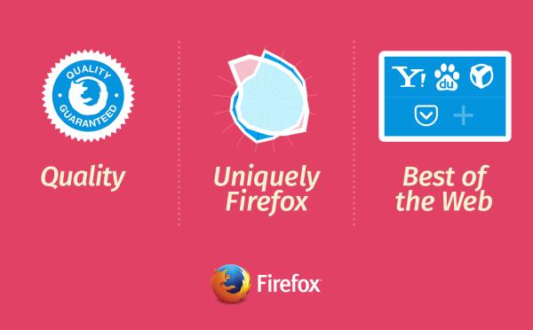 Pilares sobre los que se sostendrá Firfox en el futuro