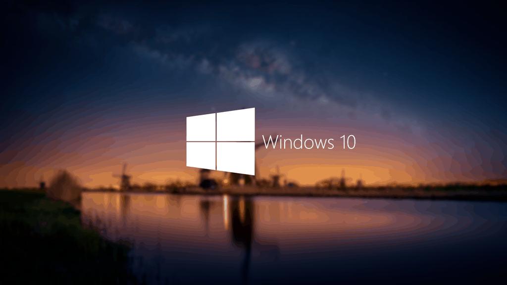 Esta sería la primera imagen de la caja de Windows 10 30