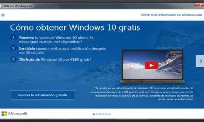 Obtén Windows 10