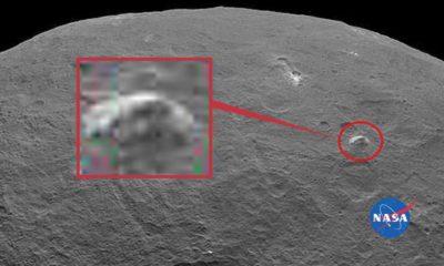 Ceres sorprende a la NASA con una pirámide y brillos 33
