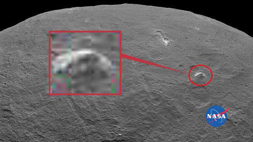 Ceres sorprende a la NASA con una pirámide y brillos 29