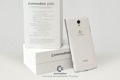 Vuelve Commodore, pero en forma de smartphone