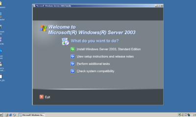 Hoy es el último día de Windows Server 2003 40
