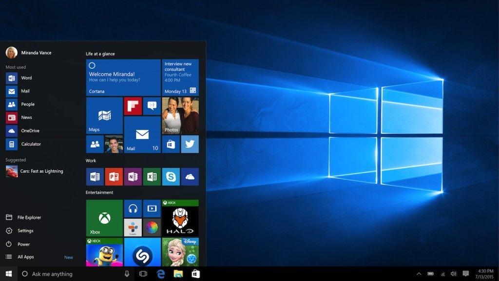 Microsoft tiene listo parche día uno para Windows 10 32