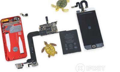 El nuevo iPod Touch desmontado por iFixit, suspende 39