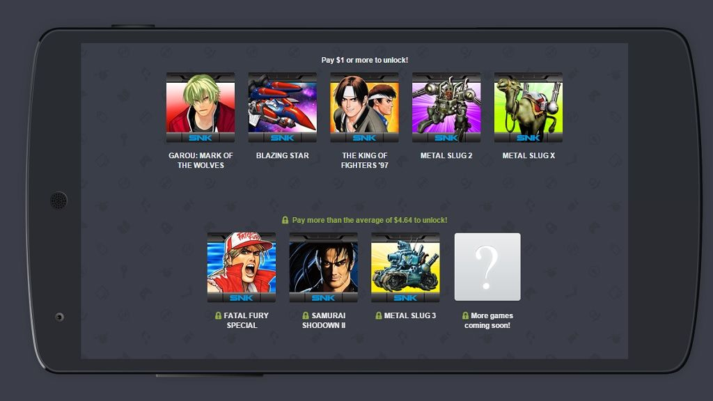 Humble Bundle especial Neo Geo para Android 29