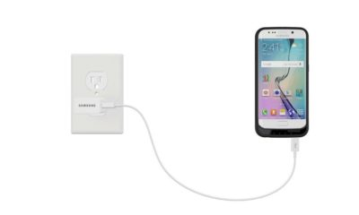Funda con batería y microSD para el Galaxy S6 49
