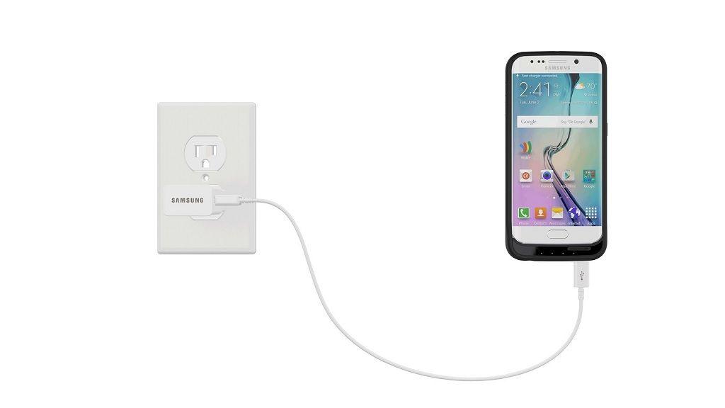 Funda con batería y microSD para el Galaxy S6 31