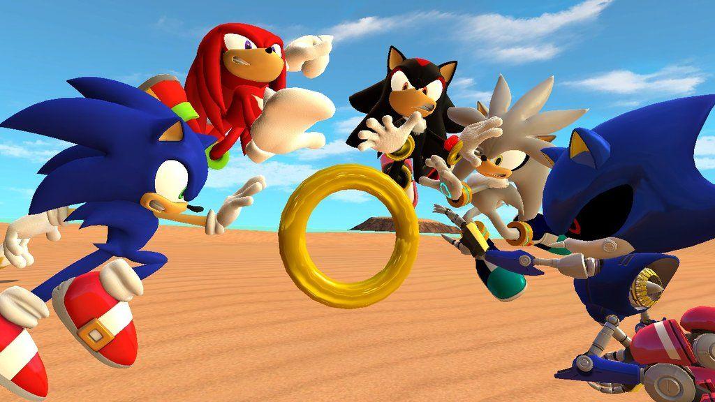 Sonic también hace sus pinitos en el Unreal Engine 4 31