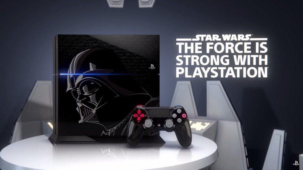 Anunciada PlayStation 4 The Star Wars Limited Edition