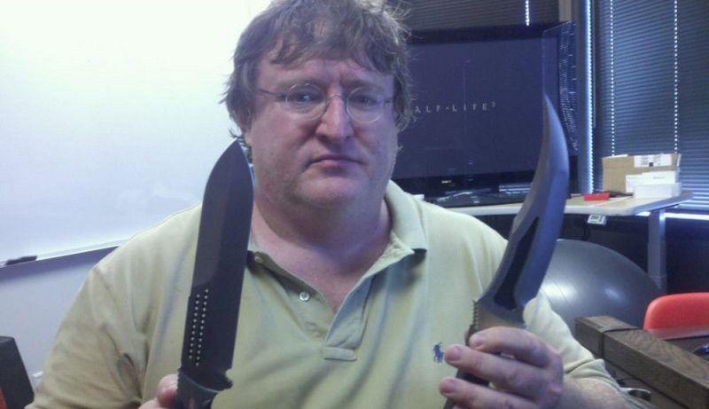 Gabe Newell esconde algo