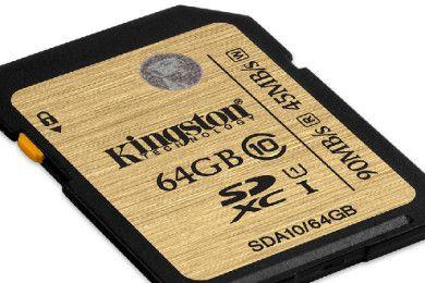 Kingston presenta tarjeta SDXC de 512 GB